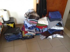 kleren wegdoen