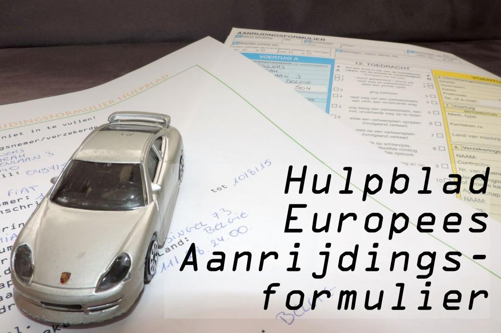 Europees aanrijdingsformulier