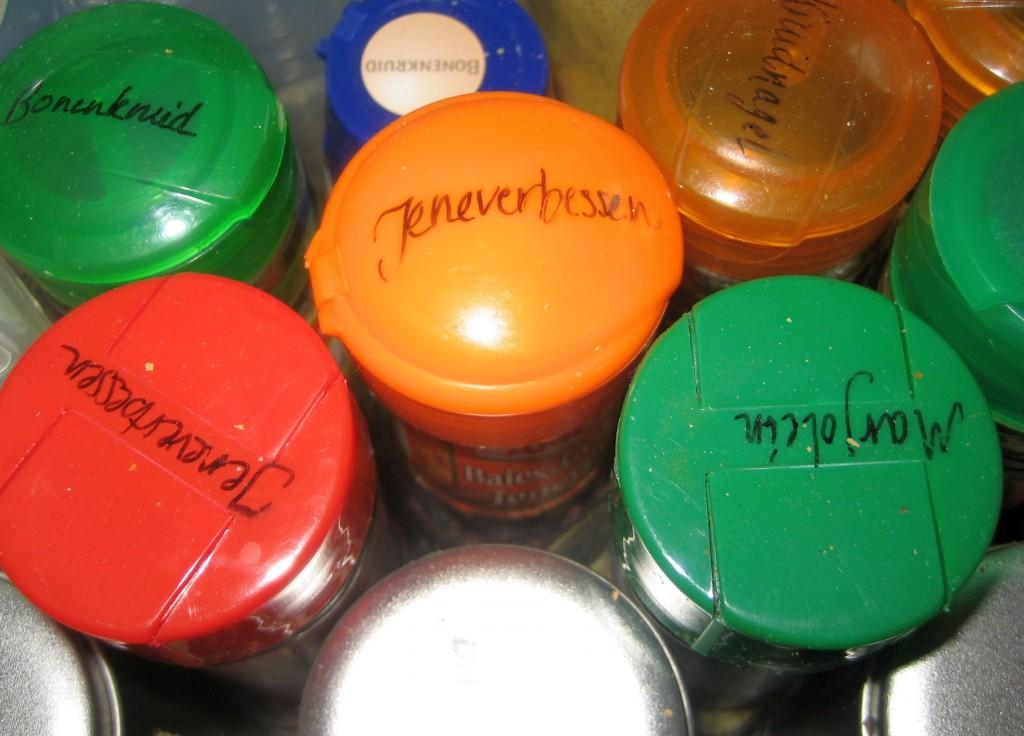 kruiden labels