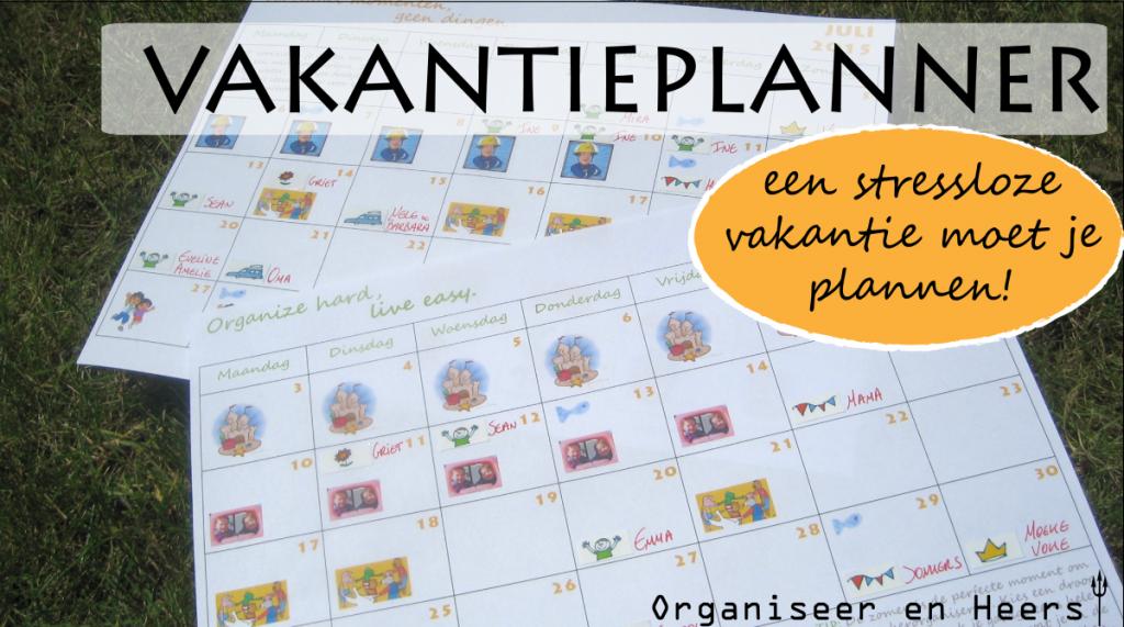 vakantieplanner 2015