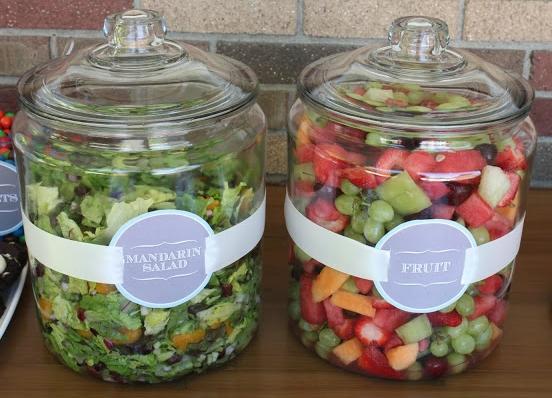 salade in vaas 4men1lady