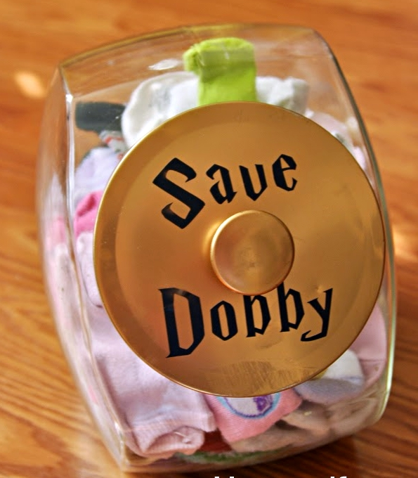 Free Dobby Sock Jar